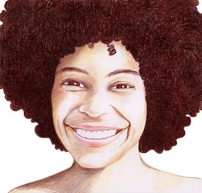 Drawing - Joy by Marilyn Hilliard