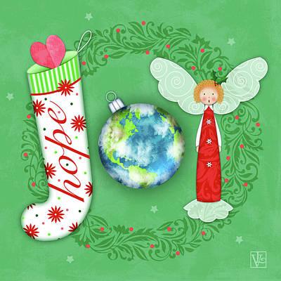 Joy Of Christmas Art Print