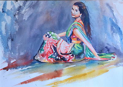 Drawing - Joy Of Life by Parag Pendharkar