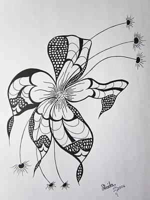 Passionate Drawing - Joy Of Pattern by Rosita Larsson
