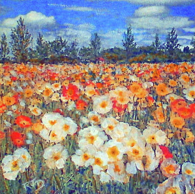 Painting - Joy Of Poppies by Richard James Digance