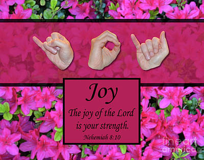 Joy Of The Lord Art Print