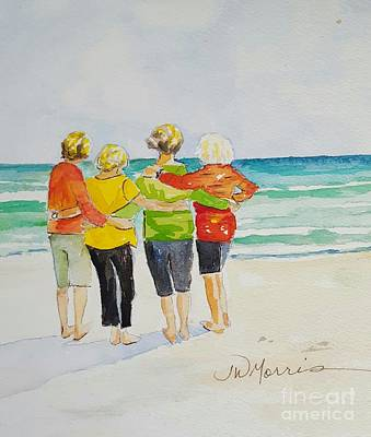 Painting - Joy, Phil. 4.1 by Jill Morris