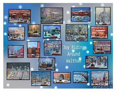 Painting - Joy Riding Around Waltham by Rita Brown