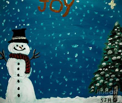 Painting - Joy by Scott Hervieux
