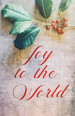 Photograph - Joy To The World 2 by Andrea Anderegg