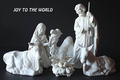 Joy To The World Art Print by Angela Comperry