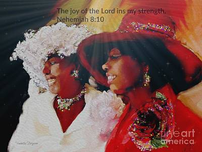 Mixed Media - Joy by Vannetta Ferguson