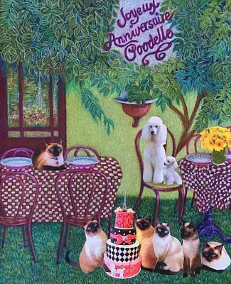 Joyeux Anniversaire Poodelle Original