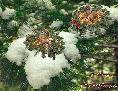Surrealism Royalty-Free and Rights-Managed Images - Joyeux Noel #11 by Listen LeeMarie