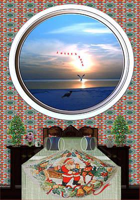 Surrealism Digital Art - Joyeux Noel #9 by Listen LeeMarie