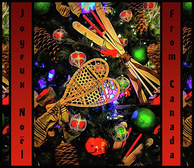 Photograph - Joyeux Noel From Canada  by Leslie Montgomery