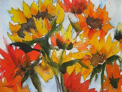 Painting - Joyful by Anne Duke