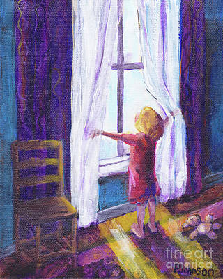Painting - Joyful Day By Peggy Johnson by Peggy Johnson