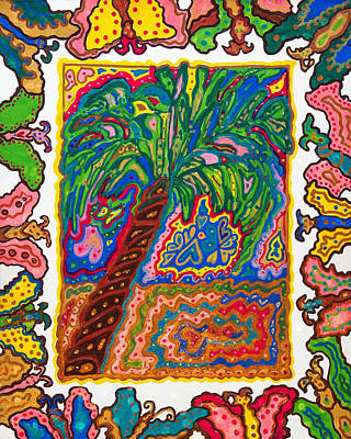 Joyful Flight - II Art Print