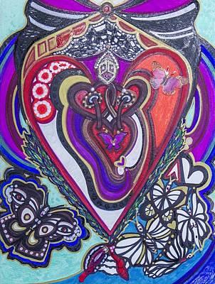 Painting - Joyful Inner Feelings by Laurel Rosenberg