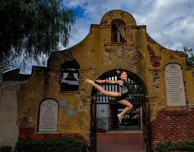 Photograph - Joyful Jump by Robert Hebert