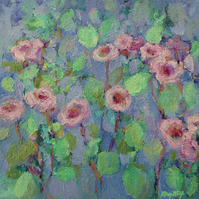Painting - Joyful by Mary Wolf