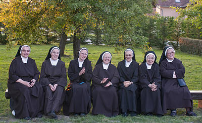 Photograph - Joyful Nuns by Don Wolf