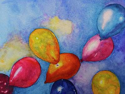 Painting - Joyful Sky by Carol Warner