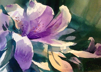 Painting - Joyful Surprise by J Worthington Watercolors