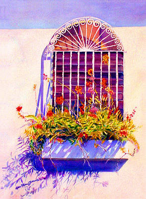 Puerto Rico Painting - Joyful Window by Estela Robles