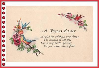 Digital Art - Joyous Easter by David and Lynn Keller