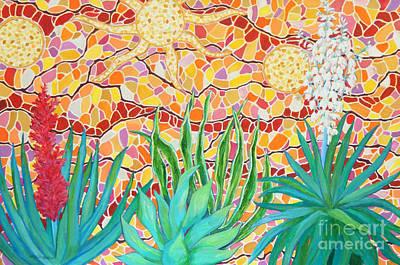 Joyous Garden Wall Art Print