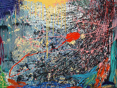 Painting - Joyous Liberation Of A Somber Personality by Banning Lary