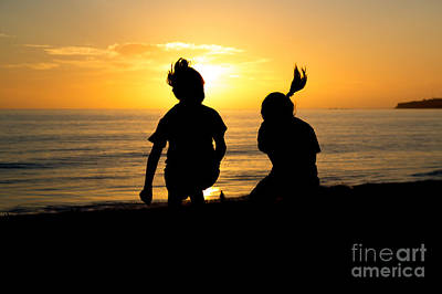 Photograph - Joyous Sunset by Suzanne Luft
