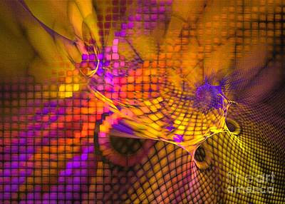 Digital Art - Joyride - Abstract Art by Sipo Liimatainen