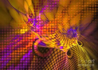 Nirvana - Joyride - Abstract art by Sipo Liimatainen