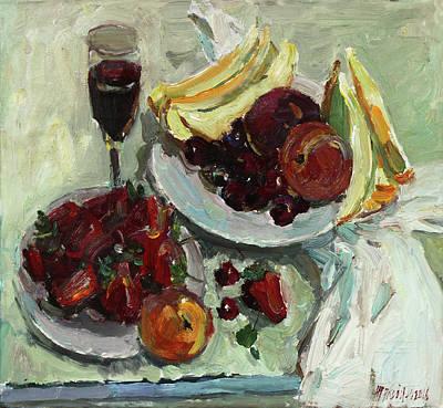 Painting - Joys Of Juliya by Juliya Zhukova