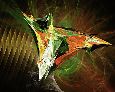 Digital Art - Jpk Digital Abstract 002 by John Knapko
