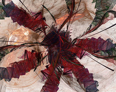 Digital Art - Jpk Digital Abstract 004 by John Knapko