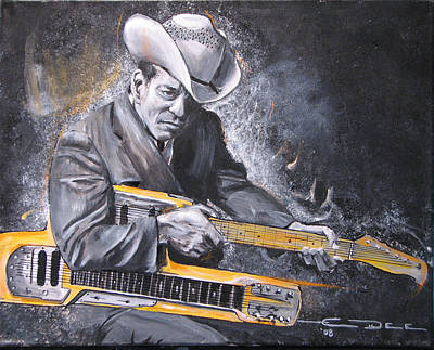 Jr. Brown Art Print by Eric Dee