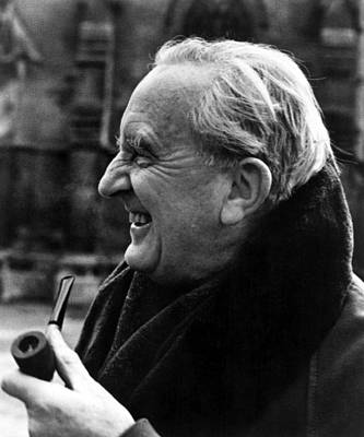 Tolkien Photograph - J.r.r. Tolkien, Circa 1981, Author by Everett