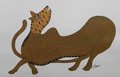 Japani Shyam Painting - Js 142 by Japani Shyam