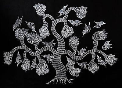 Japani Shyam Painting - Js 170 by Japani Shyam