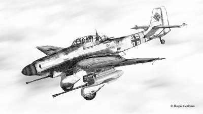 Digital Art - Ju-87g by Douglas Castleman