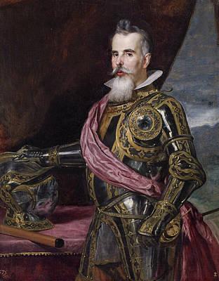 Noble Painting - Juan Francisco De Pimentel, Count Of Benavente by Diego Velazquez