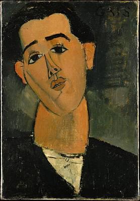 Juan Gris 18871927 Original by Amedeo Modigliani