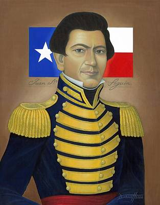 Republic Of Texas Painting - Juan N. Seguin by Mark Barnett