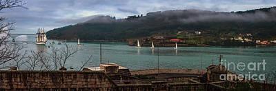 Photograph - Juan Sebastian Elcano Panorama Arriving To The Port Of Ferrol by Pablo Avanzini