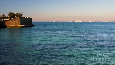 Photograph - Juan Sebastian Elcano Port Of Cadiz Departure by Pablo Avanzini