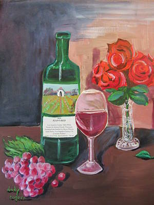 Painting - Juan's Red by Dody Rogers