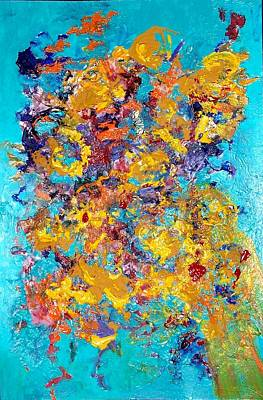 30 X 24 Painting - Jubilation by Chitra Ramanathan