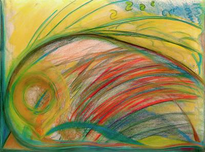 Pastel - Judas by Diane Morrison