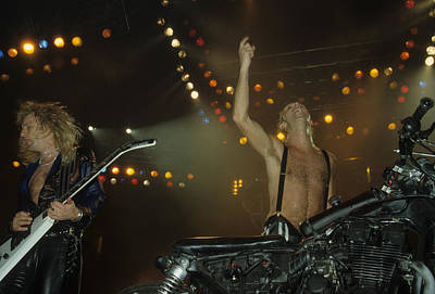 Photograph - Judas Priest by Rich Fuscia