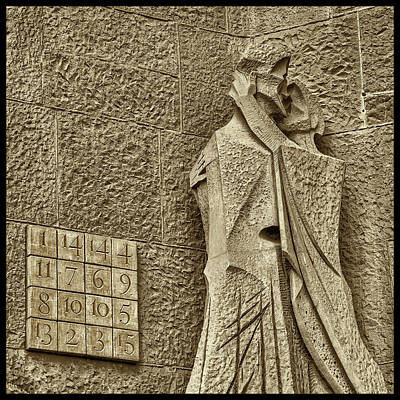 Photograph - Judas Treason Kiss With Magic Square by Phil Cardamone